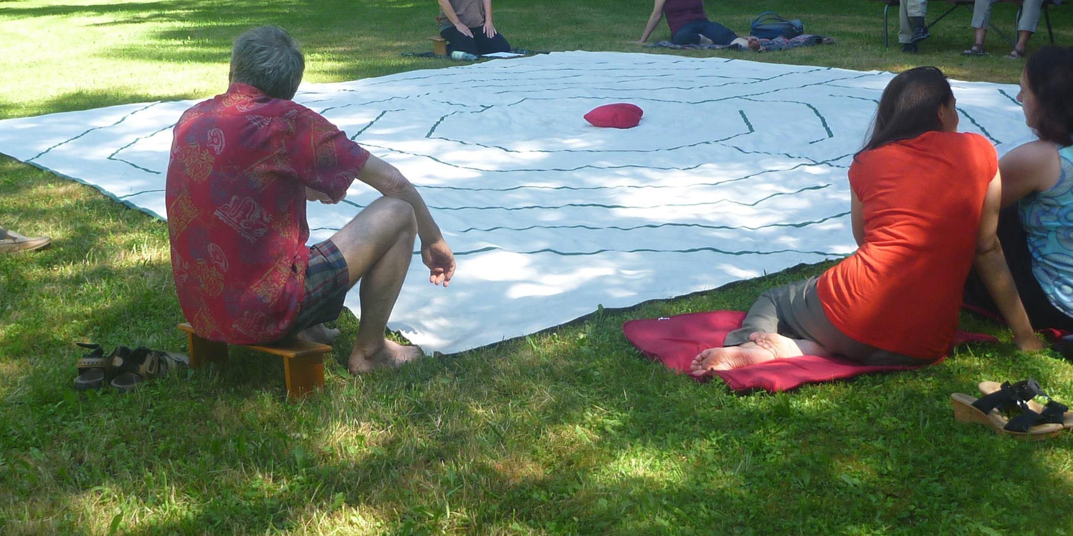 Ein Labyrinth Seminar: Meine Mitte finden